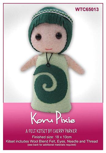 Koru Pixie - Felt Kitset