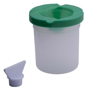 DAS Non-Spill Paint Pots with Lids & Stoppers
