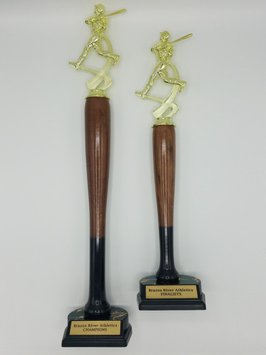 Trophies for Brazos River Athletics