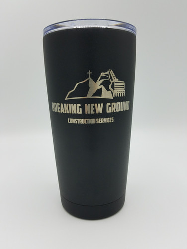20oz Laser engraved tumbler