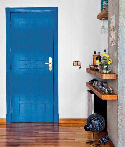 porta colorida