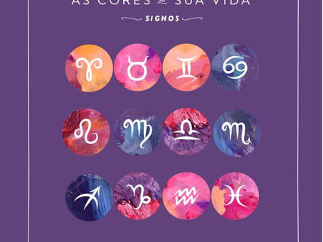 AS CORES DOS SIGNOS