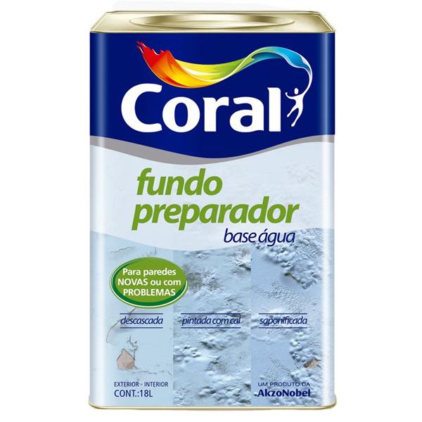 Fundo Preparador de Paredes Coral