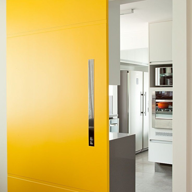 Porta Colorida Amarela