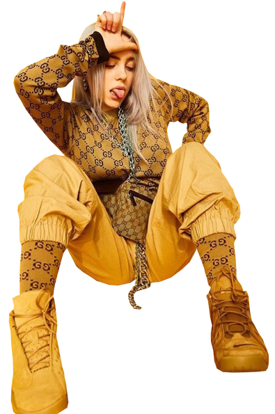 billie eilish PNG