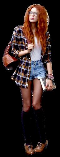 Девушка cutout