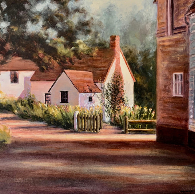 Cottage in Dedham, England