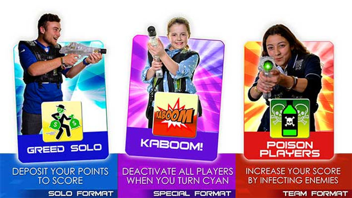 Avon Laser Tag Game Formats 12