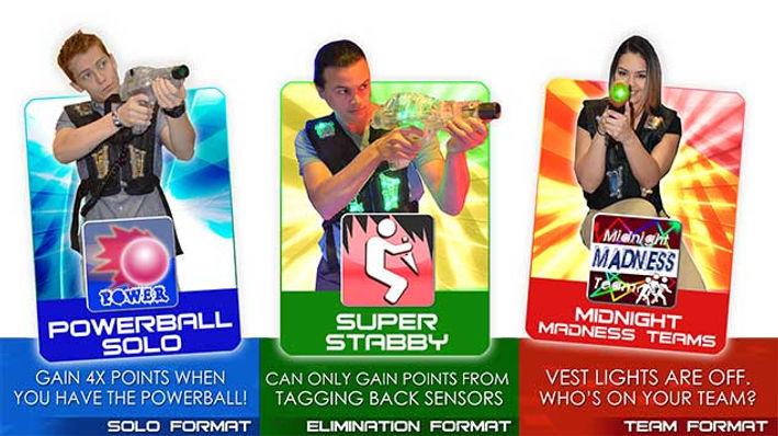 Avon Laser Tag Game Formats 4