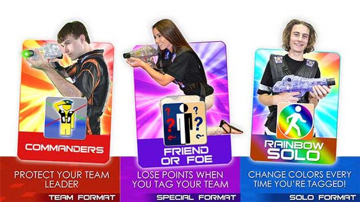 Avon Laser Tag Game Formats 6