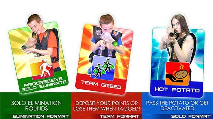 Avon Laser Tag Game Formats 7