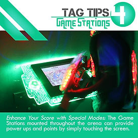 Tag Tips Game Stations