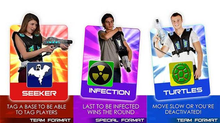 Avon Laser Tag Game Formats 9
