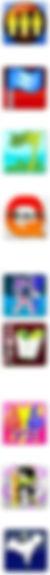 Avon LaserTag Team Format Game Icons