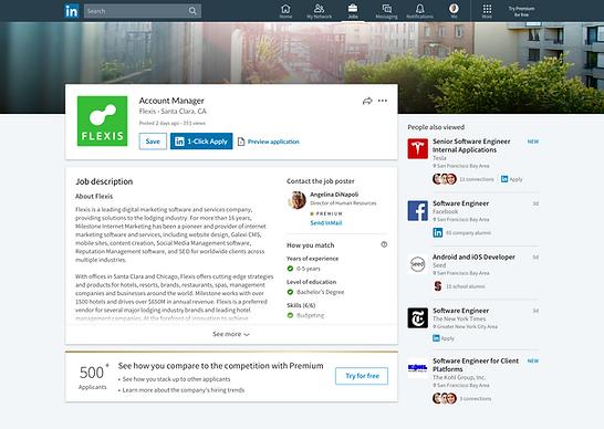 LinkedIn vacature plaatsen