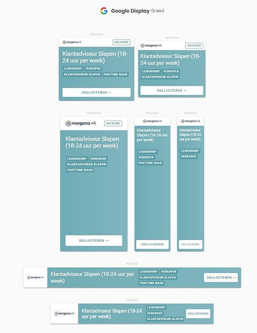 BIND HR Vacaturemarketing - banners