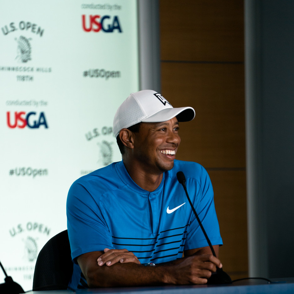Tiger Woods 2018 US Open