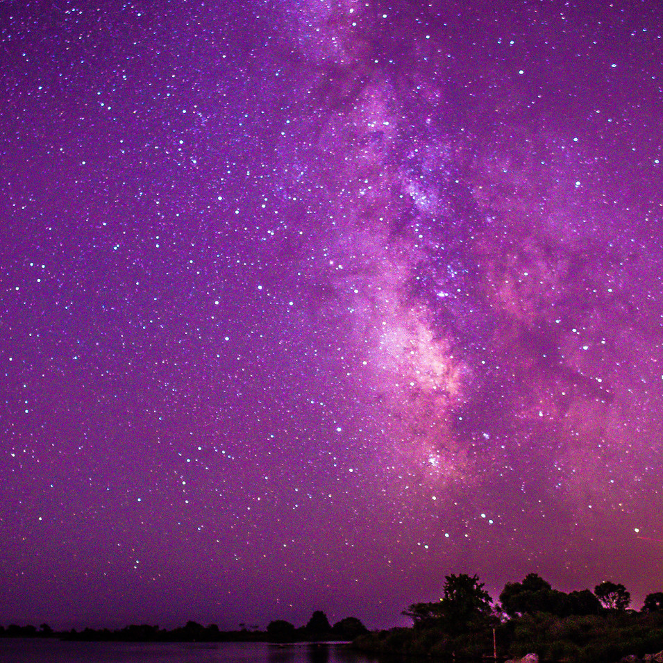 Milky Way at Frosty Drew, RI