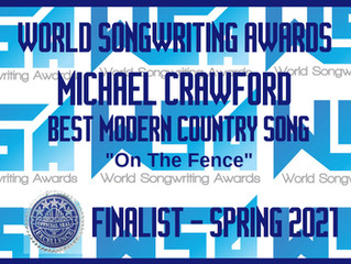Did well in the World Songwritting Contest