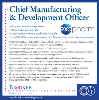 Exopharm Advert