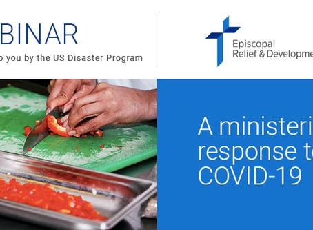 Webinar on Friday | Impacts of COVID on ministry
