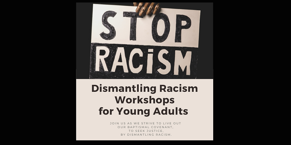 Dismantling Racism Workshop Series for Young Adults