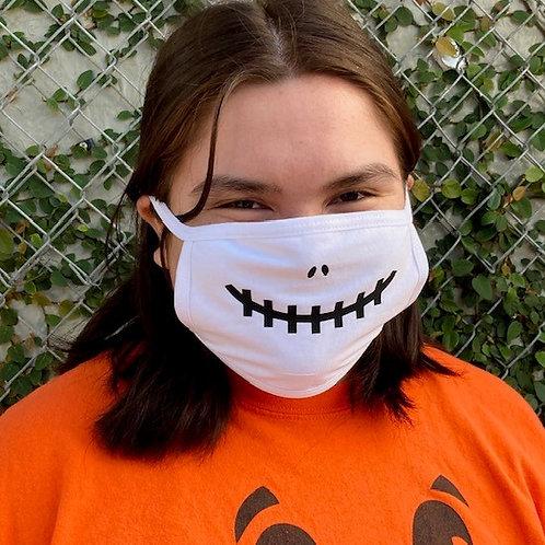 Halloween Face Mask - Cute Skull