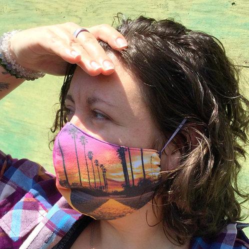 Face Mask - Strength & Love LA (Contoured)