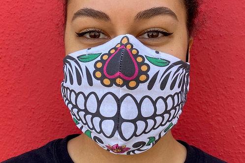 Face Mask - Skull #1 (Contoured)