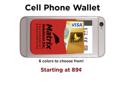Cell Phone Wallet Holiday Gift