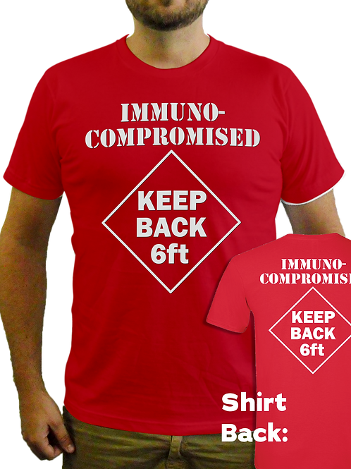 Immunocompromised - Keep Back Tee