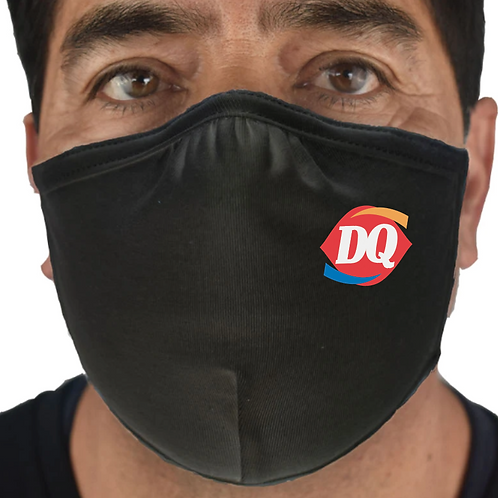 100-Pack Premium Masks with DQ Logo - Made In USA