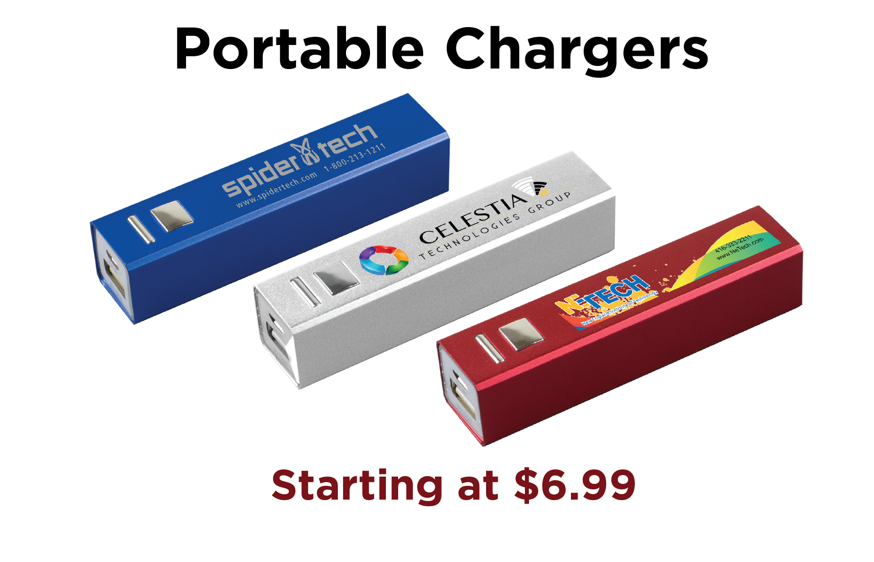 Lithium Ion Portable Chargers