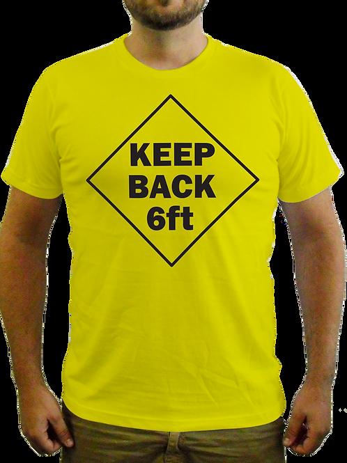 Keep Back Tee