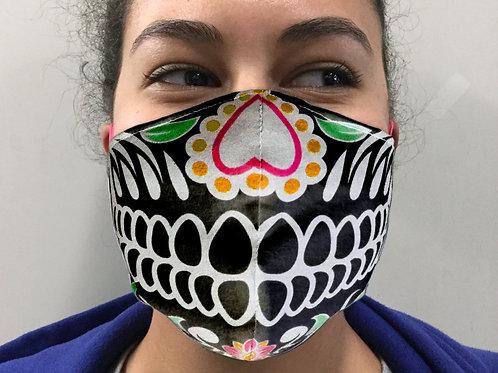 Face Mask - Skull #2 (Contoured)