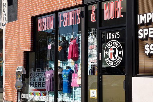 custom tshirts and more at our West LA location 10675 W Pico Blvd