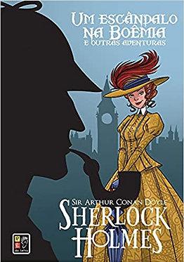 Sherlock Holmes - Um Escândalo na Boemia Capa Dura
