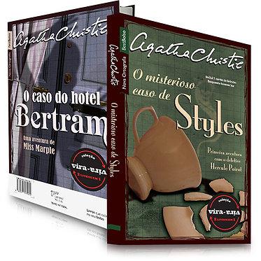 O Misterioso Caso de Styles / O Caso do Hotel Bertram - Coleção Vira-Vira (2 Liv
