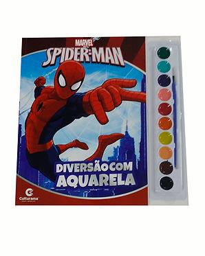 Diversão com Aquarela Marvel Sortido - 2 Capas