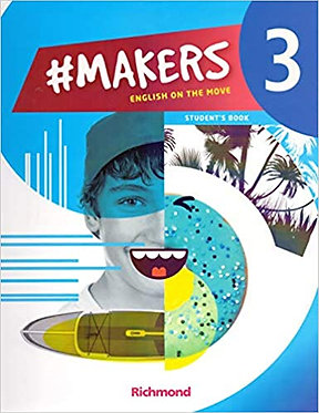 #MAKERS 3 ENGLISH ON THE MOVE STDS BK