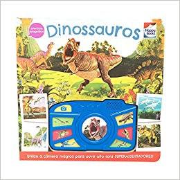 Aventura fotográfica! Dinossauros Capa dura – Livro com som
