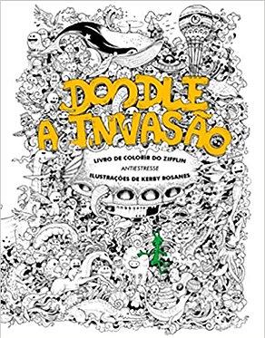 Doodle, A invasão : Livro de colorir do Zifflin+..-+