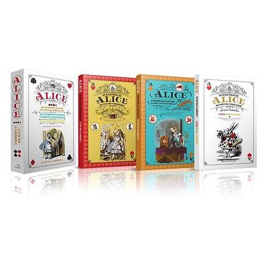 Box Livros Alice País Das Maravilhas - 3 Volumes