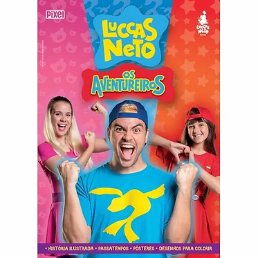 LUCCAS NETO EM OS AVENTUREIROS