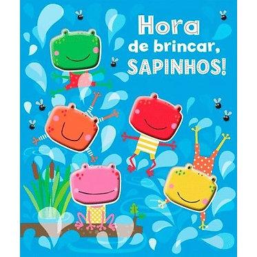 HORA DE BRINCAR, SAPINHOS! LIVRO CARTONADO