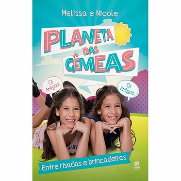 PLANETA DAS GEMEAS - ENTRE RISADAS E BRINCADEIRAS