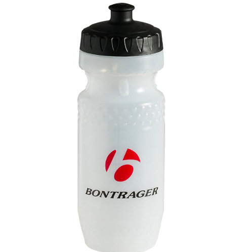 Trek Water Bottle Bontrager Logo (Single), Black/Red 591 ml