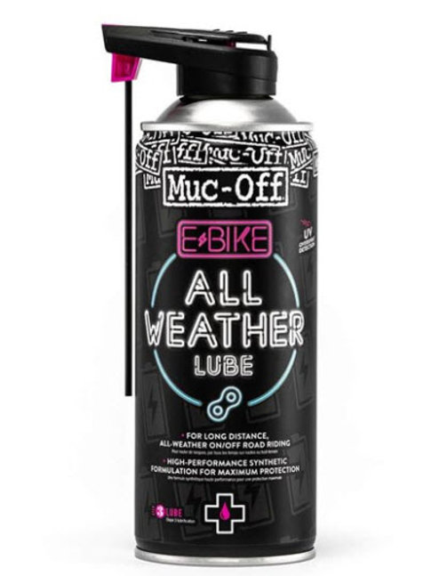 Muc-Off E-Bike All Weather Kjedeolje 400 ml