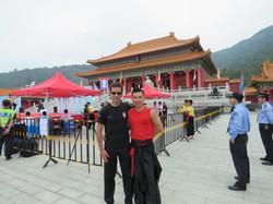 Sifu Richard Leutz e Sifu Oscar Lam.