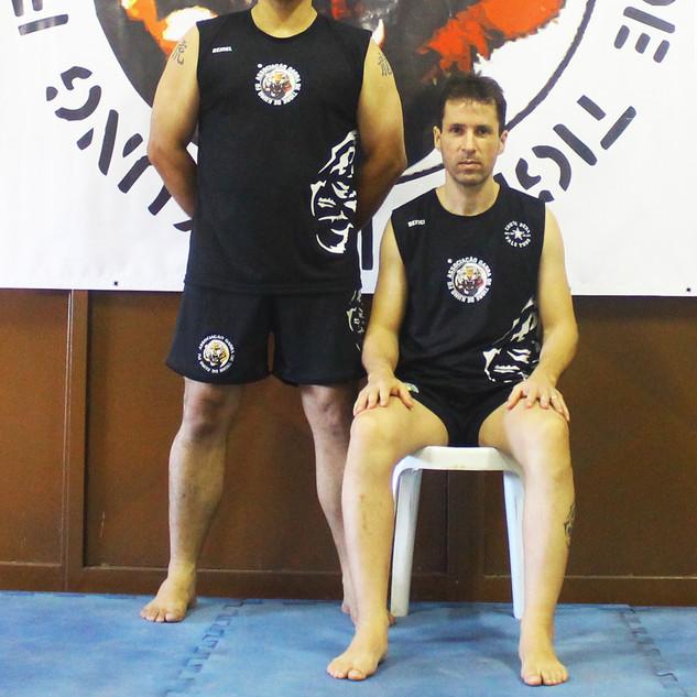 Sihing Marcos Mourão e Sifu Richard Leutz